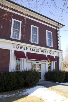 Like Wine? Come to Lower Falls Wine Co.  Newton Lower Falls Information | The Mill at Newton Lower Falls