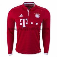 Fodboldtrøjer Bundesliga Bayern Munich 2016-17 Hjemmetrøje Langærmede