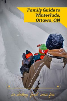 Family Guide to enjoying Winterlude, the ultimate winter-fest in Ottawa, Ontario, Canada. Ice skating, regional food and fun in the snow! Canadian Winter, Canadian Travel, Snow Fun, Vancouver Island, Ice Skating, Travel With Kids, The Places Youll Go, Adventure Travel, Stuff To Do