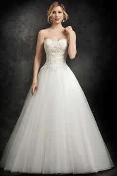 Wedding gown by Ella Rosa