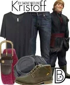Anna and Kristoff disneybound
