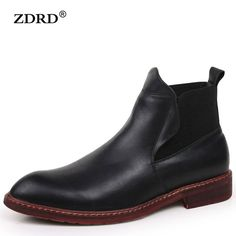 Men Winter Ankle Boots Warm Fur Snow Motocycle Oxfords Male Rubber Leather Suede Chelsea Boots Casual Shoes #>=#>=#>=#>=#> Click on the pin to check out discount price, color, size, shipping, etc. Save and like it!
