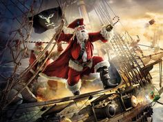 pirate santa - Google Search