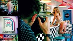 Get your kicks on Route 66 with @TheHannahFerg & the ladies of #SISwim! http://on.si.com/1IPQuX1