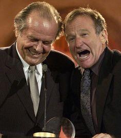 Jack Nicholson and Robin Williams