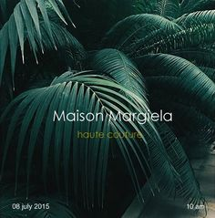 "Maison Margiela  by John Galliano ,AW 2016 ""Artisanal"" Haute Couture ,July 08,2015,10 am,Paris ,  Colage by Karl Sorrenti"