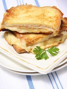 Croque-Monsieur au Maroilles et bacon
