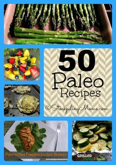 50 Paleo Recipes that are amazing! #paleo #recipes
