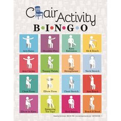 Picture of Chair Activity Bingo