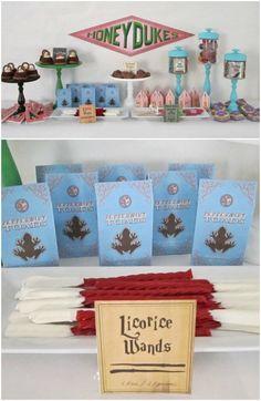Harry Potter Birthday Party Ideas