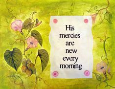Good Morning Thank You Lord