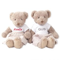 Custom teddy bear - perfect gift for girls and kids.