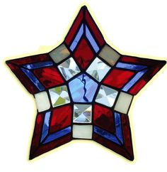 Stained Glass News Star