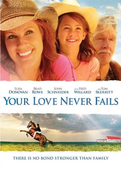 Your Love Never Fails - Christian Movie on DVD. A touching tale of single mom Laura Conners, who has climbed the corporate ladder to achieve a high-powered career as an investment banker in New York City. But she struggles to reconcile her wish to spend more time with her 9-year-old daughter Kelsey with her heavy workload and the demands of her boss. www.christianfilm...
