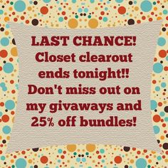 FREE GIFT WITH ALL PURCHASES!! Bundle discount 25% off. EVERYTHING NEEDS TO GO!! Make me an offer!! Other
