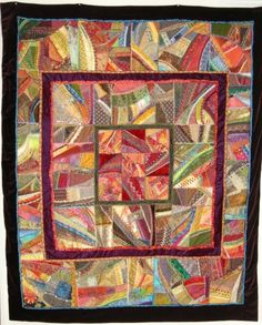 I ❤ crazy quilting . . . Crazy in the Desert by Allie Aller