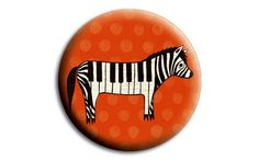 boygirlparty Etsy shop (http://ift.tt/1wlgGoA): #ZEBRA art piano accessories compact mirror by boygirlparty - unusual gifts for music lover / animal lover gift - uncommon gift -- Source: http://ift.tt/1Qtt7Ya