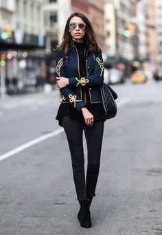 The Prettiest Street Style Looks From New York Fashion Week
