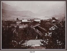 view from Russel lane to Main Street in Lillooet ca 1900