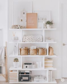 """[orginial_title] – Home best pin """"I love the versatility of this bookshelf in our living/kitchen open area! We sw… """"I love the versatility of this bookshelf in our living/kitchen open area! We switch it up every season with different decor, display… – Home Office Decor, Home Decor Bedroom, Living Room Decor, Diy Home Decor, Living Rooms, Aesthetic Room Decor, My New Room, Home Decor Accessories, Office Accessories"""
