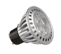 Kosnic 6W KTC GU10 LED: GU10 LED, 6 Watt, 50 Watt Halogen Replacement, 40/60° Beam Angle, 300-330 Lumens, 3 Year Guarantee -