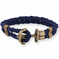 PAUL HEWITT PHREP Anker Armband Blau