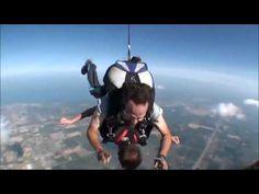 Joe Swederski 1st  Time skydiving tandum jump 06 30 2012