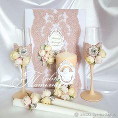 Свадебный набор пыльная роза-персиковый – купить или заказать в интернет-магазине на Ярмарке Мастеров | Набор аксессуаров.Персиковый и пыльно-розовый<br…
