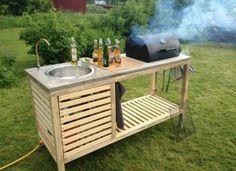 Outdoor Küche   Garden / Garten   Pinterest   Garten