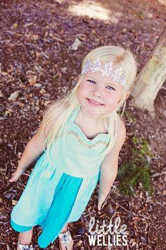 ELSA from Frozen Inspired Dress Frozen Birthday Party Disney Dress Handmade