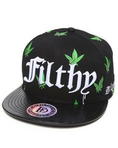 Westside Weed Leaf Hat by Filthy Dripped @ DrJays.com