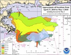 Mapping the Gulf of Mexico Oil Spill
