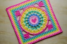 Ravelry: Jane's Love Square pattern by Queen Babs