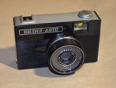TESTED Soviet lomo camera Vilia-Auto, Vintage camera, Made in the USSR
