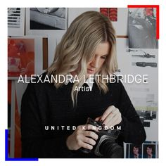 """Alexandra Lethbridge is featured in Procedures & Materials. Born in Hong Kong and now based in the UK, Lethbridge is considered one of Britain's promising photographers. In 2015, the Guardian recognised her as a """"rising star of British photography."""" Her work is research-based, using found photographs and archival imagery to constructed striking images of her own. (Photo Credit MTart)"""