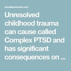Unresolved childhood trauma can cause called Complex PTSD and has significant consequences on mental health. You can find freedom from shame in complex PTSD Ptsd Symptoms, Anxiety Attacks Symptoms, Professor, Ptsd Quotes, Stress Disorders, Anxiety Disorder, Complex Ptsd, Behavioral Therapy