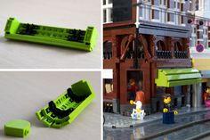 Amsterdam - Keizersgracht / Utrechtsestraat: A LEGO® creation by Patrick Bosman : MOCpages.com