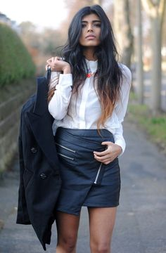 .asymmetric skirt