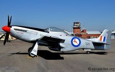 North American P51 Mustang SAAF, at the South African Air Force Museum, Swartkop.