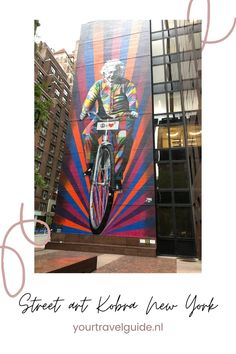 Kobra Street art spotten in New York - Your Travel Guide Kobra Street Art, New York Travel Guide, Solo Travel, North America, Traveling By Yourself, Stuff To Do, Road Trip, Painting, Inspiration