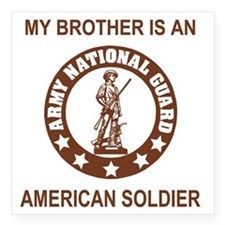 my brother's in the national guard   Army National Guard Bumper Stickers   Car Stickers, Decals, & More