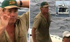 Crocodile Hunter's final moments: Never-before seen footage reveals Steve Irwin's last hours before giant stingray killed him on the Great B...