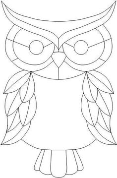 stained glass window quilt patterns for beginners - - Yahoo Image Search Results Stained Glass Birds, Stained Glass Projects, Stained Glass Patterns, Owl Patterns, Quilling Patterns, Embroidery Patterns, Free Mosaic Patterns, Quilt Patterns, Free Pattern