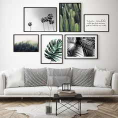 If You Love Affordable, Modern Art Then You'll Love Papier hq - The Style Insider Photo Wall Decor, Photo Wall Design, Family Room Walls, Gallery Wall Layout, Living Room Pictures, Frames On Wall, Living Room Decor, Home Decor, Summer Days