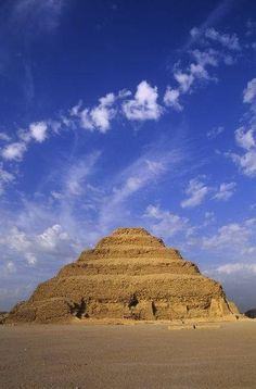Step Pyramid of Djoser Saqqara, Egypt