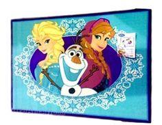Quality Disney Frozen Rug Elsa /& Anna Play Mat Rug 133cm x 95cm Non Slip