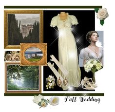"""Fall Wedding"" by dezaval ❤ liked on Polyvore featuring Sia, Funtasma, Avalaya and fallwedding"