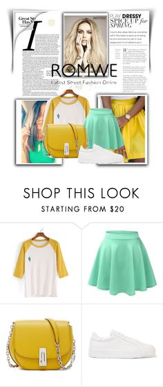 """""""Color Block"""" by ayannap ❤ liked on Polyvore featuring Jil Sander"""