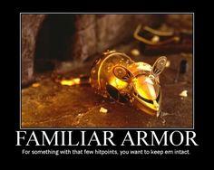 Familiar Armor posted by Welknair
