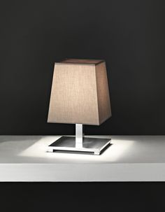 Jackie small table lamp polished chrome